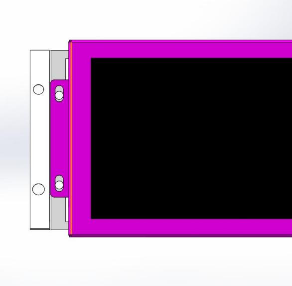 条形智能轨道交通条形屏-车载屏安装示意图2